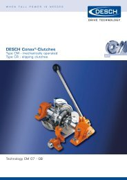 DESCH Conax®-Clutches - TB Hengelo