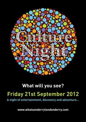 here - Culture Night 2013