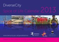 Spice of Life Calendar 2013 - Derry City Council