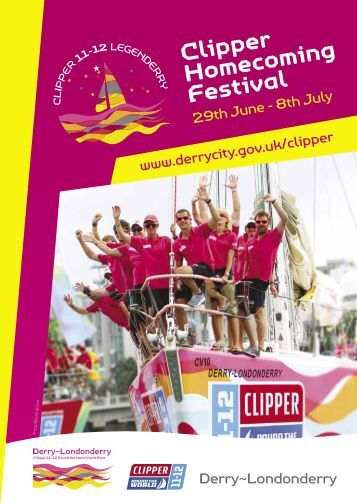Clipper Homecoming Festival - Derry City Council
