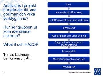 Analysfas i projekt, hur går det till, vad gör man och vilka ... - Siemens