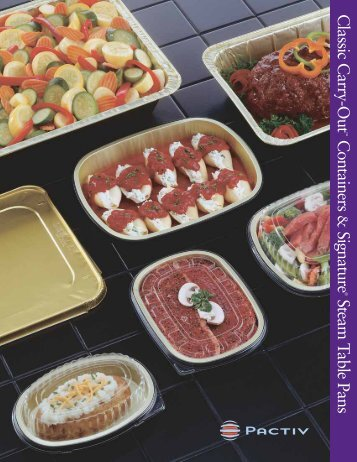 Classic Carry-Out Containers Signature Steam Table Pans - Joshen
