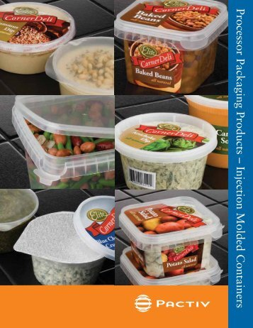 Processor Packaging Products – Injection Molded Containers - Joshen