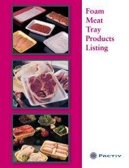 Foam Meat Tray Products Listing - Joshen