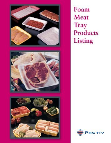 Foam Meat Tray Products Listing - Joshen