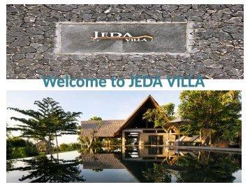 Private Luxury Villas Bali available at Jeda Villa