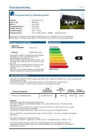Energimærkning - Robin Hus