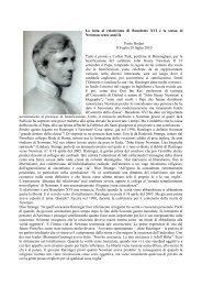 interventi - Confederazione dell'Oratorio di San Filippo Neri