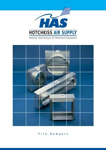 Fire Dampers - Hotchkiss Air Supply