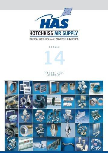 Issue Price List - Hotchkiss Air Supply