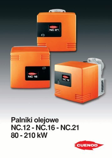 Palniki olejowe NC.12-16-21 PDF - ALPAT