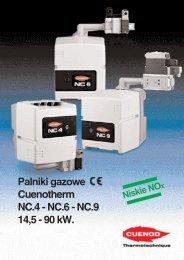 Palniki gazowe NC.4-6-9 PDF - ALPAT