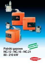 Palniki gazowe NC.12-16-21 PDF - ALPAT
