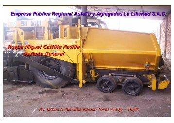 Roque Miguel Castillo Padilla Gerente General - Gobierno Regional ...