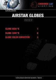 AIRSTAR GLOBES - cherokee luz