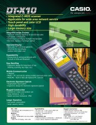 • Integrated C-MOS scanner • Applicable for wide area network ...