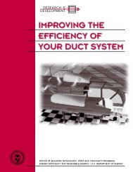 Improving the Efficiency of Your Duct System - EERE - U.S. ...