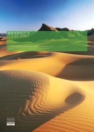 Corporate Social Responsibility Report 2012 - Heritage Oil