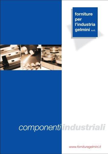 Catalogo Gelmini - Forniture per l'industria Gelmini Srl