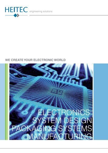 HEITEC Electronics - System Design Packaging Systems Manufacturing