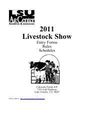 2011 Livestock Show