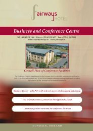 Business and Conference Centre - Fairways Hotel
