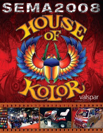 Sema 2008 All Wrapped Up - House of Kolor