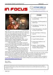 Issue 129: 2012 April - Cheltenham Camera Club