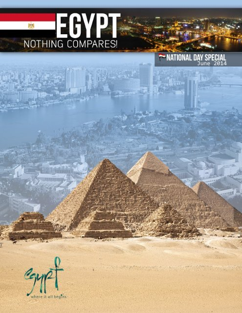 Egypt 62nd National Day Anniversary Magazine
