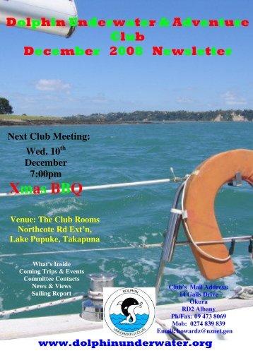 Xmas BBQ - DolphinUnderwater.org