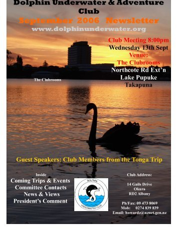 September 2006 Newsletter - DolphinUnderwater.org