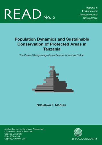 Population Dynamics and Sustainable Conservation of Protected ...