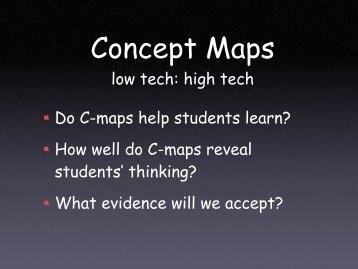 Concept Maps - MSPnet Hub