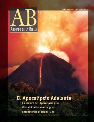 El Apocalipsis Adelante - The Bible Advocate Online