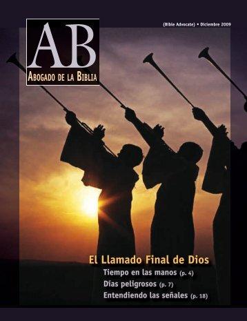 El Llamado Final de Dios - The Bible Advocate Online