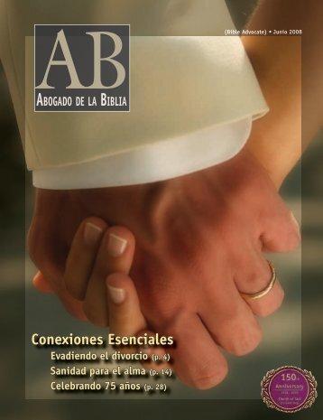Conexiones Esenciales - The Bible Advocate Online
