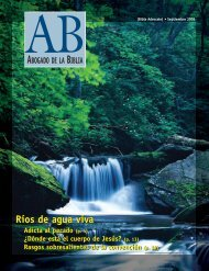 BA July-August 2002 - The Bible Advocate Online