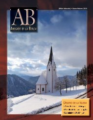 (Bible Advocate) • Enero-Febrero 2010 - The Bible Advocate Online