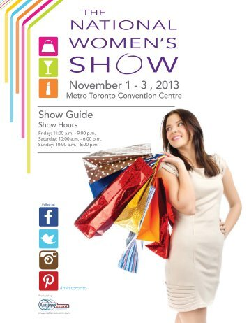 2013 Show Guide - the National Women's Show
