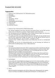 Protokoll GHG 16.01.2012 Tagespunkte: - Grüne Jugend / GHG ...