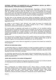Resumen en español - Asociación de Celiacos de Madrid