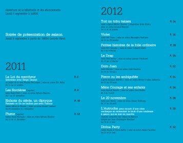 Plaquette NOUVEAU THÉÂTRE.pdf - Culture-besancon.fr