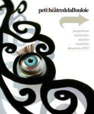 Programme septembre - décembre 2010 - Culture-besancon.fr
