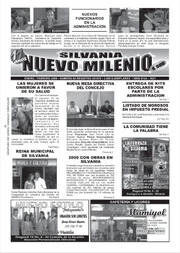 Paginas JPG PERIODICO NUEVO MILENIO.cdr - Silvania