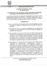 ACUERDO MUNICIPAL N°015 - Sitio web del municipio Silvania en ...