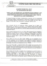 ACUERDO MUNICIPAL N°017 - Sitio web del municipio Silvania en ...