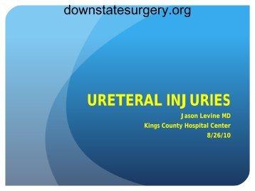 Ureteral Injuries