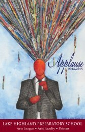 Applause - Lake Highland Preparatory School