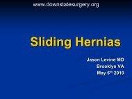 Sliding Hernias