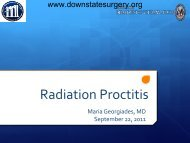 Radiation Proctitis